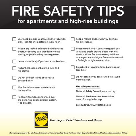 What Would You Do If Fire Strikes Learn To With Safety Tips For Apartment And High Rise Building Occupants
