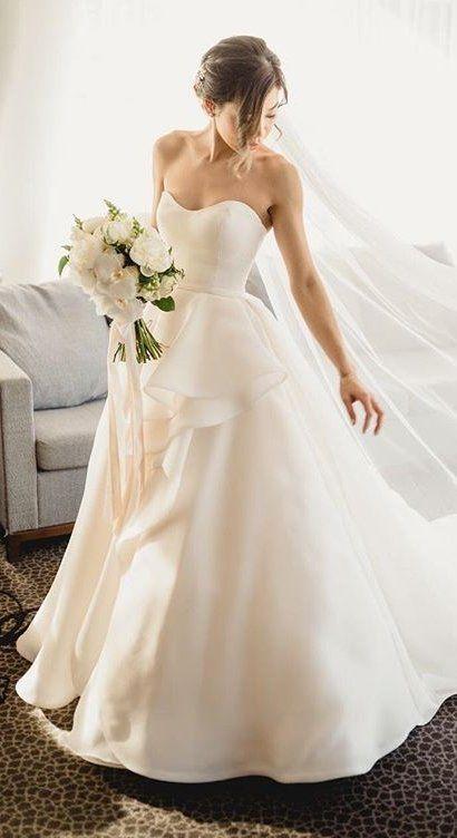 Romantic Ballgown Wedding Dress In Elegant Australia Nuptials