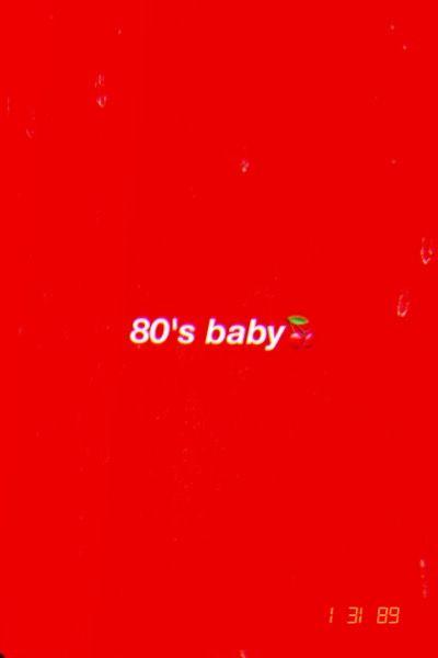 80 S Baby Wallpaper Aesthetic Iphonewallpapers In 2019