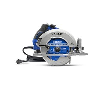 Kobalt 7 1 4 In 15 Amp Corded Circular Saw With Brake And Magnesium Shoe Lowes Com In 2020 Circular Saw Cordless Circular Saw Circular