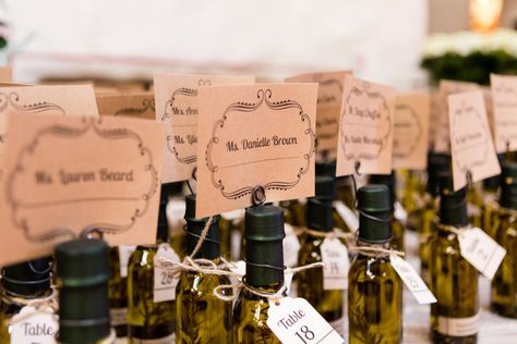 Santa Ana, CA #TheHaciendaEvents  #SantaAnaWedding #OCWeddingVenue #CaliforniaWedding #SoCalWedding #OrangeCountyWeddingVenues #OCWeddings #EscortCards #PlaceCards #Favors #OliveOilFavors