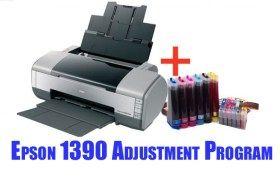 Epson 1390 Adjustment Program Epson Printer Inkjet Printer