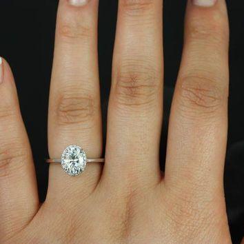 Oval Halo Engagement Rings Plain Band Google Search Engagement Ring Plain Band Aquamarine Engagement Ring Oval Halo Engagement Ring