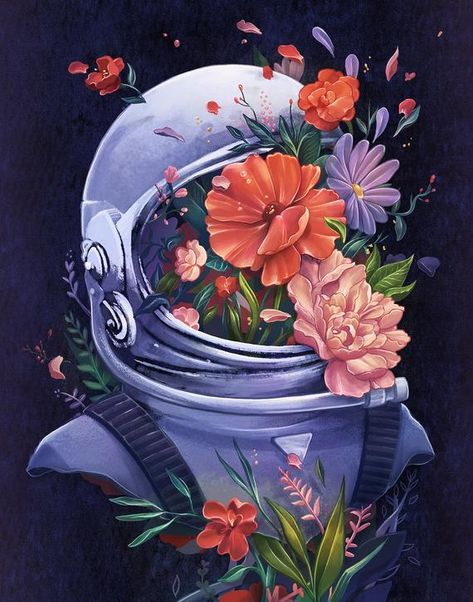 Astronaut 11x14 Art Print