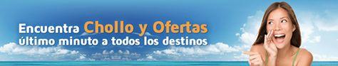 #chollos #ofertas #lowcost #viajes Encuentra los chollos y ofertas de última hora y benefíciate de descuentos, regalos y precios low cost. Precios y reservas online: http://campuvic.traveltool.es/navegacion/paquete/chollos.aspx
