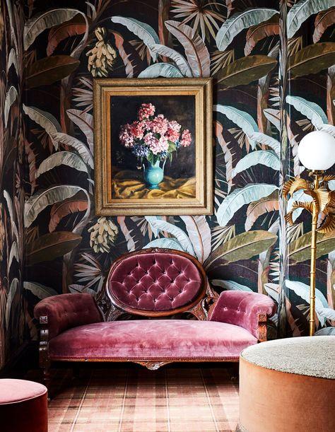The Design Files Interior Exterior, Home Interior Design, Interior Decorating, Studio Interior, Apartment Interior, Bathroom Interior, Decorating Ideas, Eclectic Design, Eclectic Decor