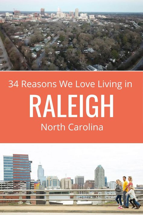 Thinking about living in Raleigh NC? We moved here all the way from Australia. Come see our 34 reasons why we love it and why we call it America's best kept secret. Yep, moving to Raleigh has been our best decision yet! #Raleigh #NorthCarolina #NC #Raleighnc