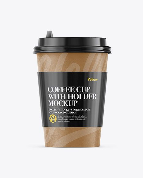 Download Cup Holder Mockup Free Yellowimages