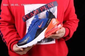 Advanced Design Nike Air Max 270 Royal Blue Red Black White