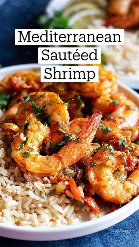 Mediterranean Sautéed Shrimp