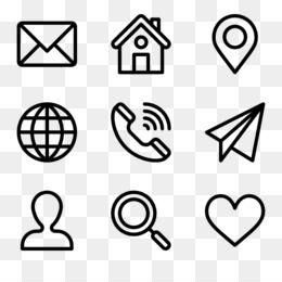 Computer Icons Hamburger Button Icon Design Royalty Free Vector Resume Computer Icon Resume Icons Address Icon