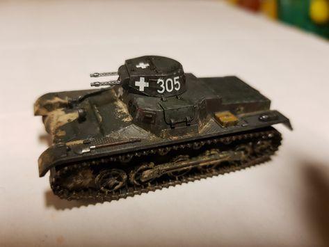 Panzer I Polen Ausf.B 1939 Fertigmodell 1:72