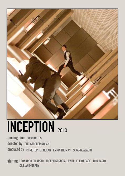inception polaroid poster