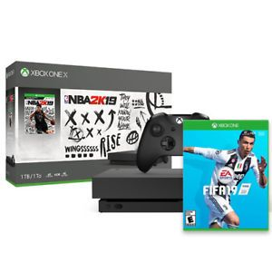 Xbox One X 1tb Nba 2k19 Bundle Fifa 19 Microsoft 0 Deals Discounts Xbox One Xbox Wireless Controller Wireless Controller