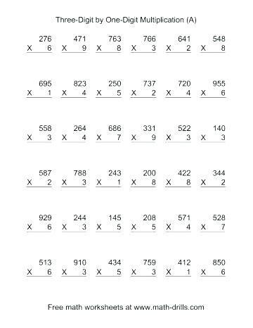Multiplying 2 Digit By 2 Digit Numbers Multiplication Practice Math Practice Worksheets Multiplication