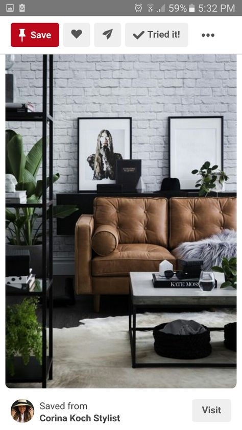 Woonkamer in aardetinten | Living rooms, Decoration and Interiors