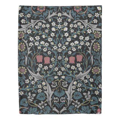 William Morris Blackthorn Duvet Cover Zazzle Com Duvet Covers Duvet Covers Twin William Morris