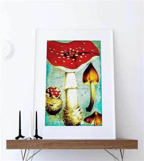 Stunning 14 Best Interior Designer Jobs Vintage Mushroom Art Vintage Kitchen Decor Kitchen Prints Vintage