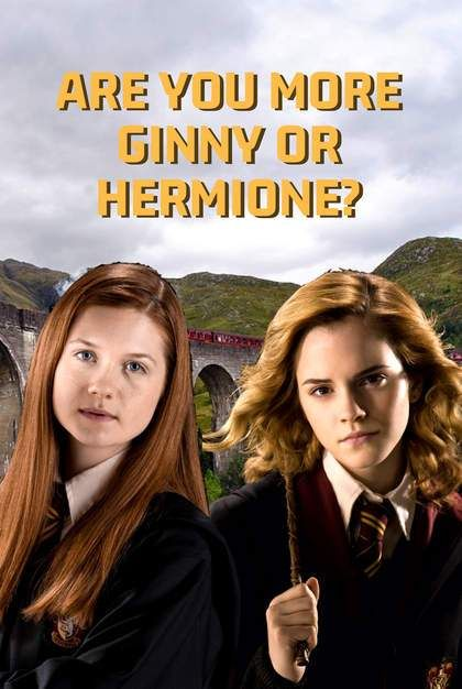 Hogwarts Quiz Are You More Ginny Or Hermione Harry Potter Buzzfeed Harry Potter House Quiz Harry Potter Jokes