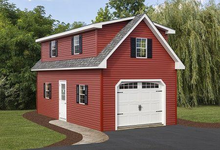 14 X 28 2 Story A Frame Garage Garage Loft Apartment Garage Plans With Loft Garage Loft