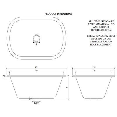 D Vontz Hammered 21 L X 15 W Undermount Kitchen Sink Bar Sink Undermount Bar Sink Rounded Rectangle