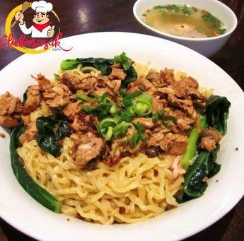 Resep Mie Ayam Jamur Resep Mie Jamur Tiram Club Masak Makan Malam Masakan Resep