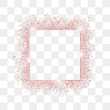 Rose Gold Square Glitter Sparkling Light Effect Border Rose Gold Square Glitter Png Transparent Clipart Image And Psd File For Free Download Rose Gold Square Rose Gold Backgrounds Sparkling Lights