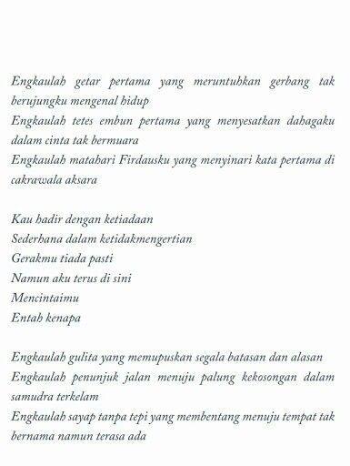 Dee Lestari Poem Supernova Inteligensi Embun Pagi Poems Some Beautiful Quotes Life Quotes Wallpaper