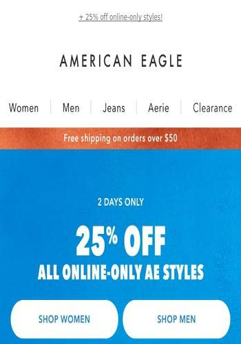 It S New Arrivals Day See The Latest Deals And Offers From American Eagle Outfitters Got In 2020 American Eagle American Eagle Women American Eagle Outfitters