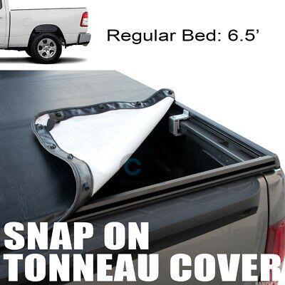 Sponsored Ebay Fit 19 Dodge Ram 1500 6 4 Ft 76 8 Bed Hidden Snap On Vinyl Truck Tonneau Cover Tonneau Cover Truck Tonneau Covers Lifted Ford Trucks