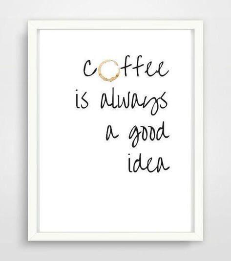Poster A4 Kaffee Fur Kuche Oder Als Geschenk Geschenke Zur Einweihung Poster Kuche Spruch Kuche