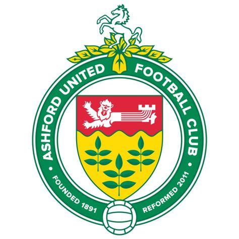 Ashford Utd Kent Of England Crest Football Logo Uk