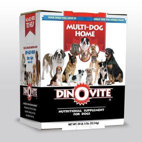 Dinovite For Multi Dog Homes Dog Food Recipes Natural Dog