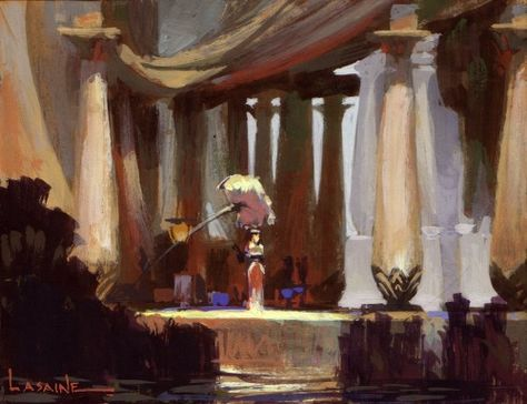 The Prince of Egypt Concept Art