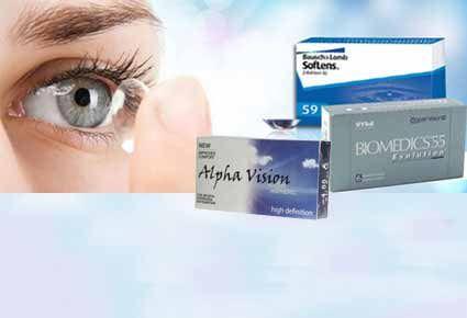 391948aa30 (ΝΕΑ ΤΙΜΗ!!!) €16.90 για 1 Κουτί με 6 Μηνιαίους Μαλακούς Φακούς Επαφής  Μυωπίας SofLens 59 της Bausch Lomb ή BIOMEDICS® 55 Evolution® της  CooperVision