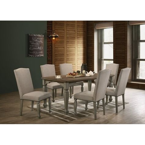 New Remus 7 Piece Dining Set Kitchen Dinings Room Furniture