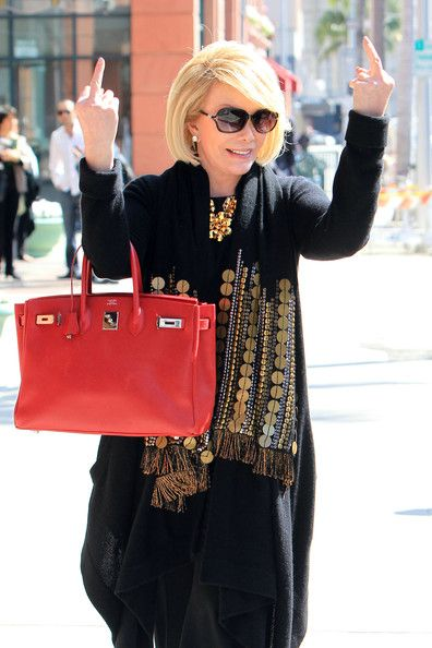 Joan Rivers Photos - Joan Rivers Out and About - Zimbio