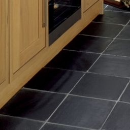 Wickes Riven Grey Matt Slate Floor Tile 300x300mm Wickes Co Uk Wickes Slate Flooring Tile Floor