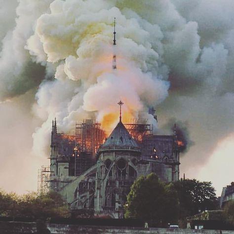 Incendie à Notre Dame le 15 avril 2019