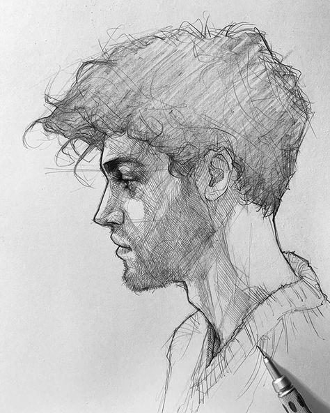 """Efrain Malo on Instagram: """"✍️ #sketching #graphgear1000 #maloart"""""""