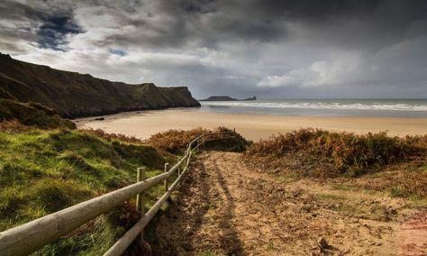 La péninsule de Gower, pays de Galles