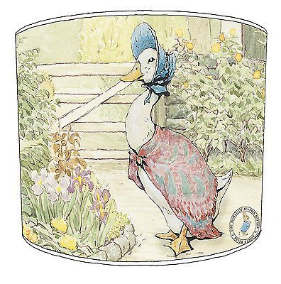 Lampshade Ideal To Match Beatrix Potter Peter Rabbit Duvets Wallpaper /& Cushions
