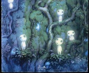 100 もののけ 姫 壁紙 もののけ姫 もののけ 森の壁紙