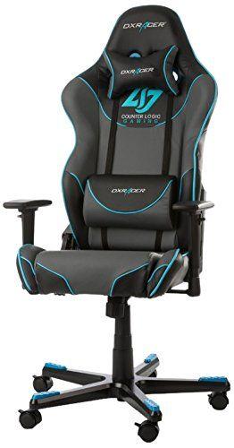 Dx Racer Oh Rz129 Ngb Clg Siege Gaming Chaise Bureau Bureau Chaise