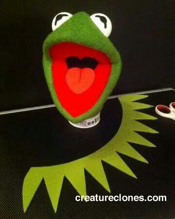 Rana rene cuello | Jim Helson | Muppets, Marioneta y Kermit