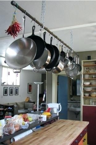Pot Hanging Rack Ikea Hanging Pot And Pans Ikea Grundtal Hanging