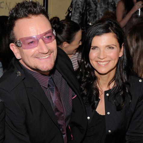 Bono et sa femme Ali Hewson et leur fille Hewson Jordan au