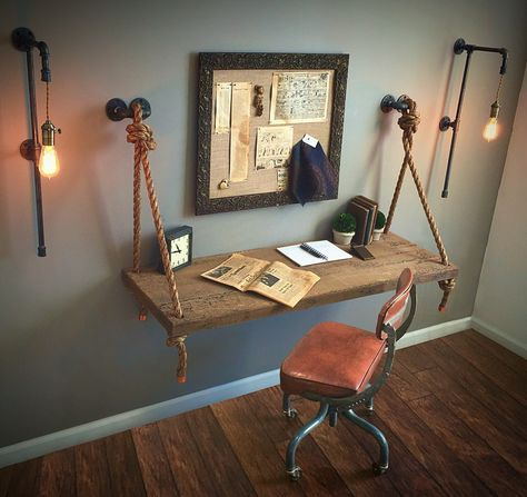 Pair or Single Tall Plug-In Sconces FREE SHIPPING + Filament Bulbs!! Industrial Pipe Lights