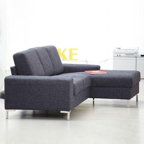 Kopenhagen Sofa Mit Longchair Rechts In Stoff Sofa Wohnen Sofa