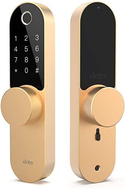 Amazon Com Keyless Front Door In 2020 Front Door Locks Fingerprint Door Lock Front Entry Doors